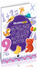 Preschool English Maths Activity Book, Editura Steaua Nordului, librarie online